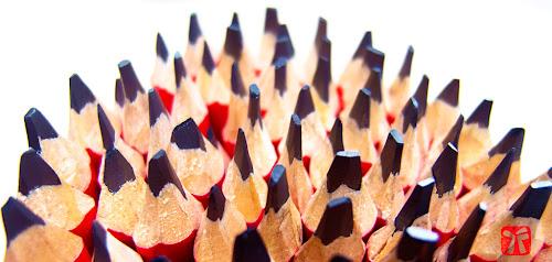 Puntes de llapis afilades