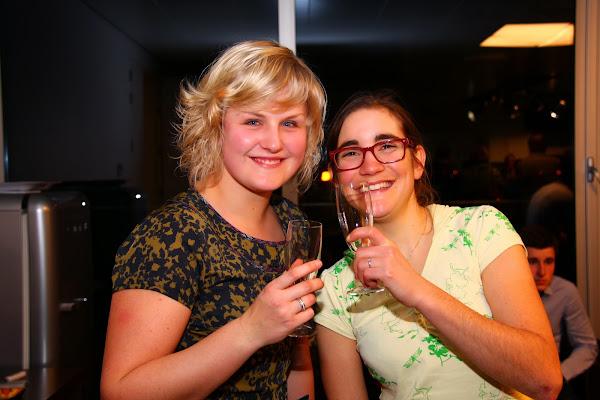 Elise Depoorter en Lieselot Decroix: schol!