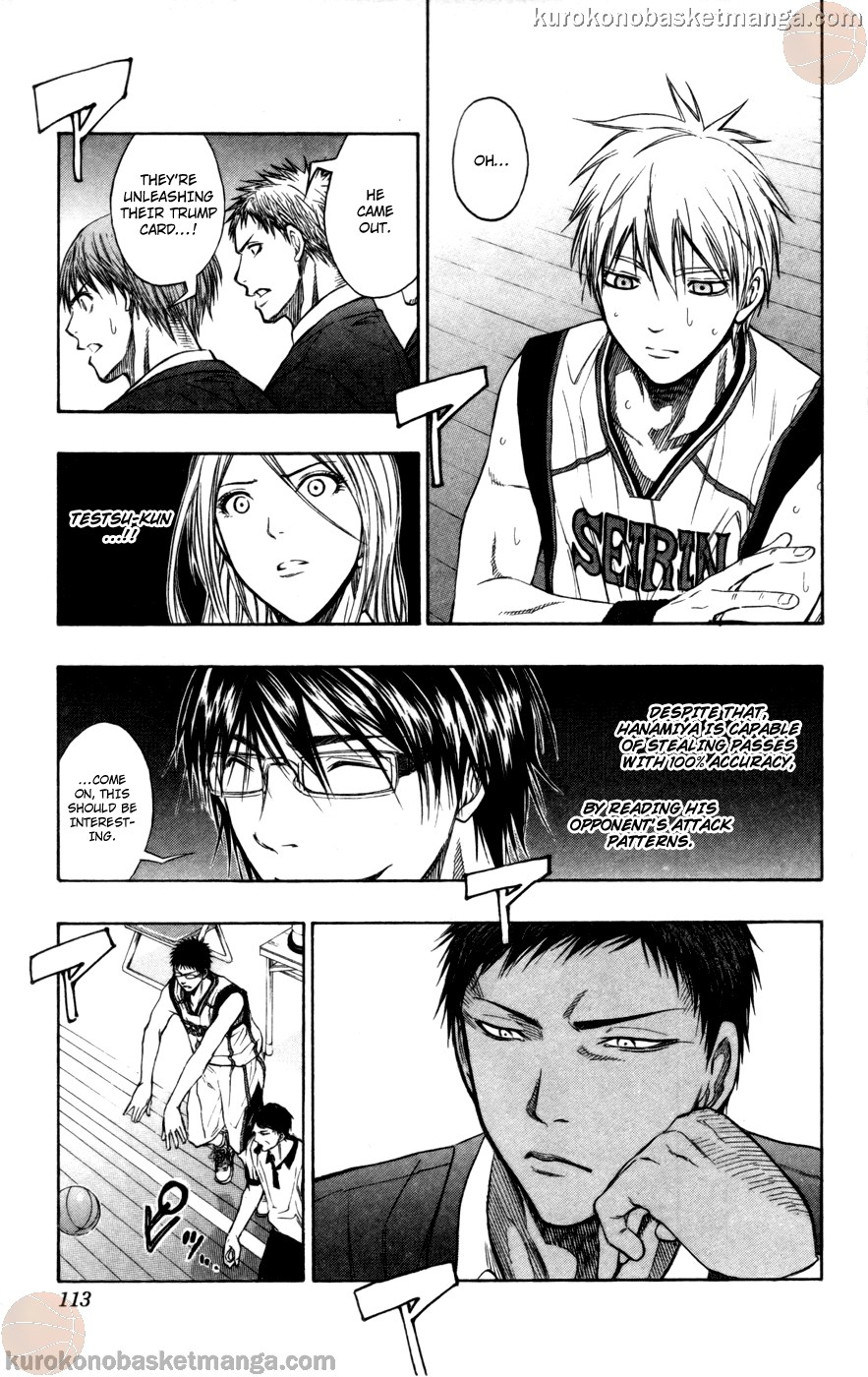 Kuroko no Basket Manga Chapter 105 - Image 06