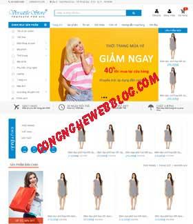 Template blogger ban hang thoi trang