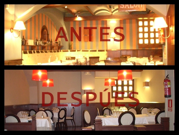 Amparo fern ndez decoraci n for Decoracion de banos de restaurantes