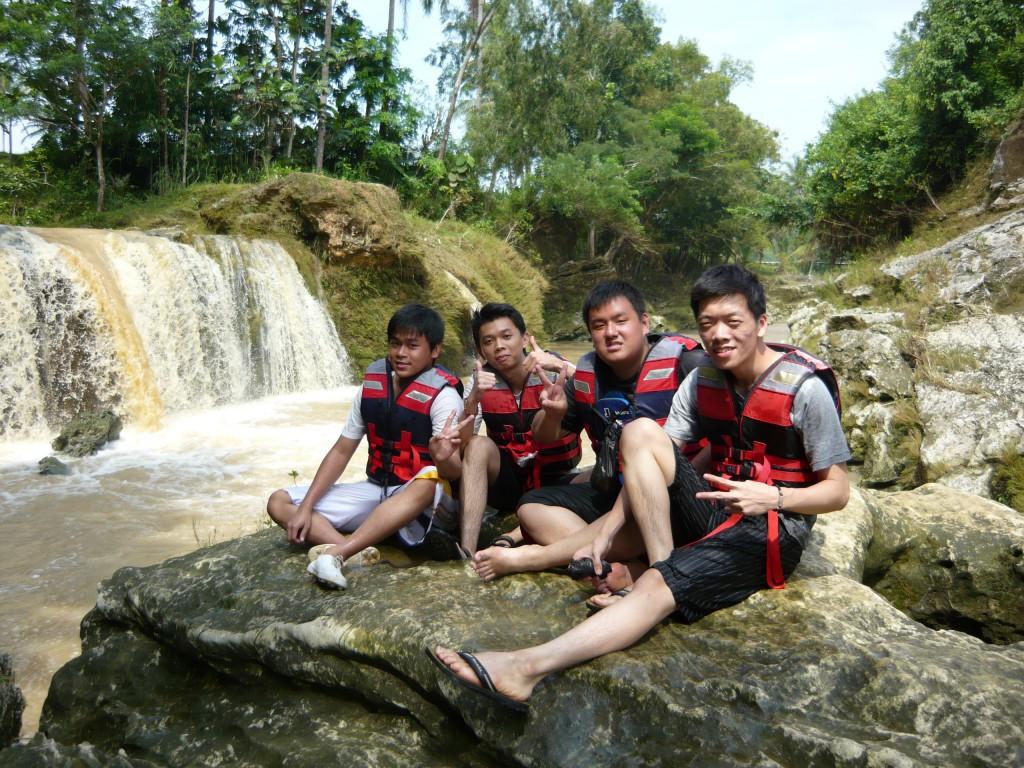 best spot di sungai oyo