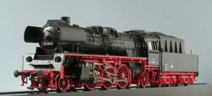 Modeli parnih lokomotiva DRG R63231