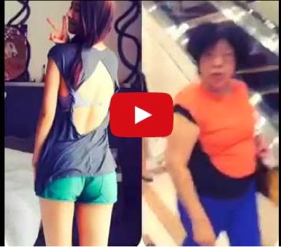 VIDEO Awek Seksi Kena Sound Untie Di Shopping Mall