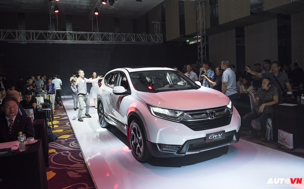 Honda CR-V thế hệ mới