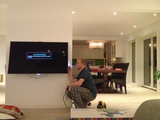 Tv-veggen!!