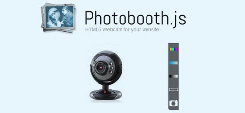 Photobooth-js : jQuery Html5 plugin to take pictures through webcam