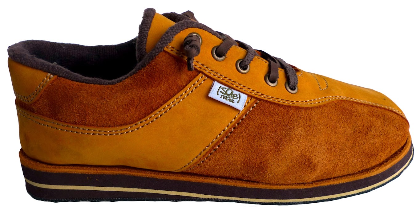 * soleRebels 雙重麂皮輪胎鞋:ONE TONE也有層次感 1