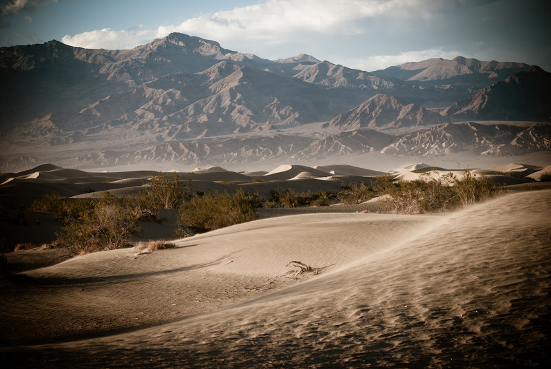 Great American Road Trip, cz.7.1 -- Death Valley National Park -- wydmy..