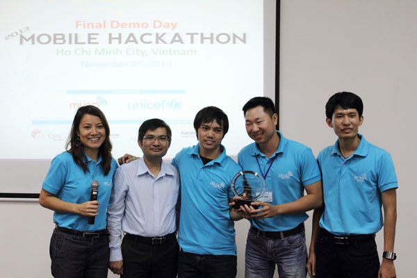 UNICEF Mobile Hackathon 2013 công bố kết quả 2