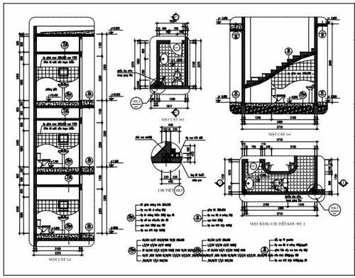 Chi tiết nhà vệ sinh ( wc)