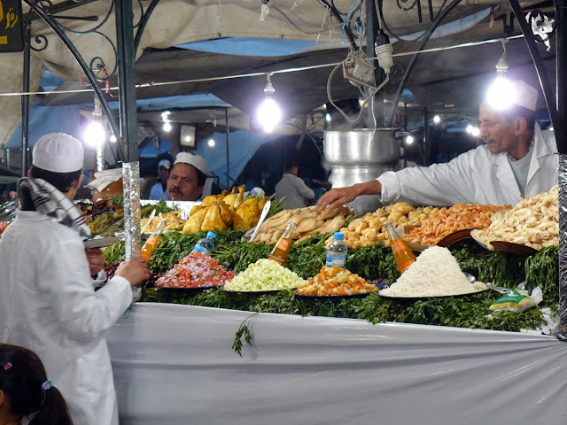 Marrakech: Piazza Djemaa el-Fna