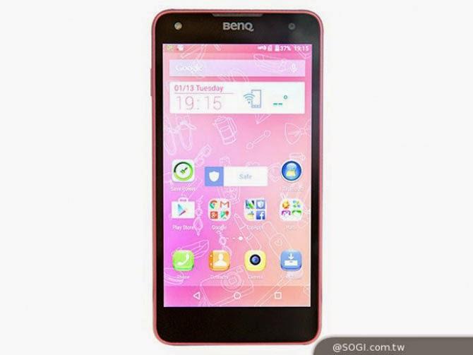 BenQ F52 màn 5.2 inch full HD, Snapdragon 810, 3GB RAM sẽ ra mắt tại MWC2015