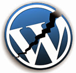 WordPress logo broken Verificare funcţionalitate site / blog