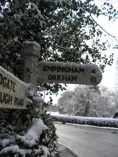 10 miles to Oakham