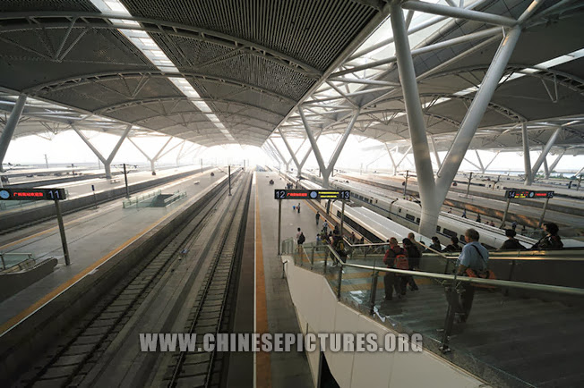 Guangzhou South Railway Station Platform Photo 1