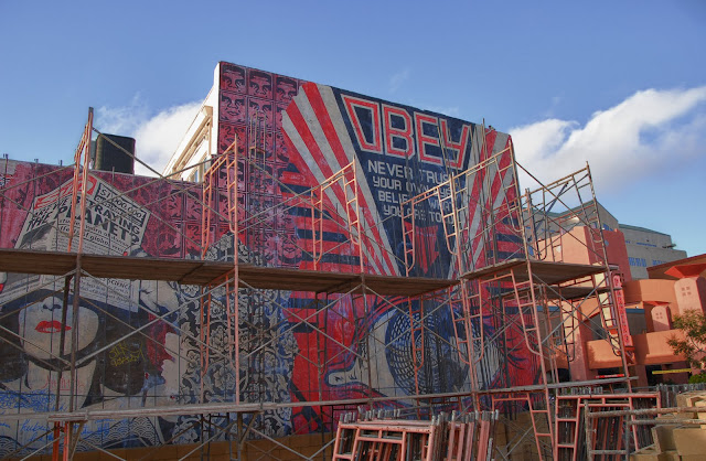 bobfab-bridle OBEY Street Art Wall 1