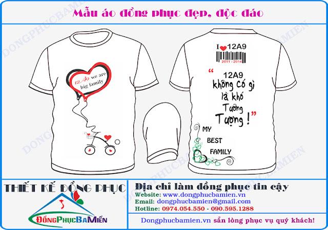 Dong phuc hoc sinh dep lop 12A9 truong THPT Tran Hung Dao - Ninh Thuan