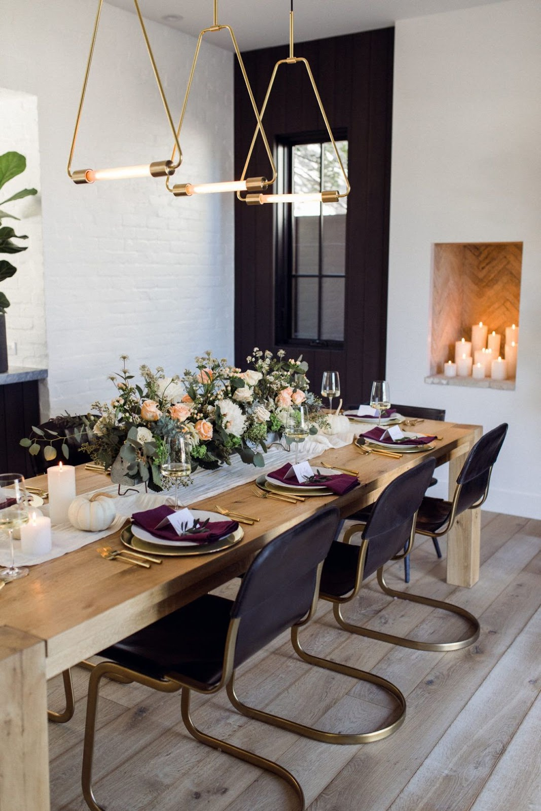 tara fust design atlanta buckhead thanksgiving tablescapes lighting candles high low heights