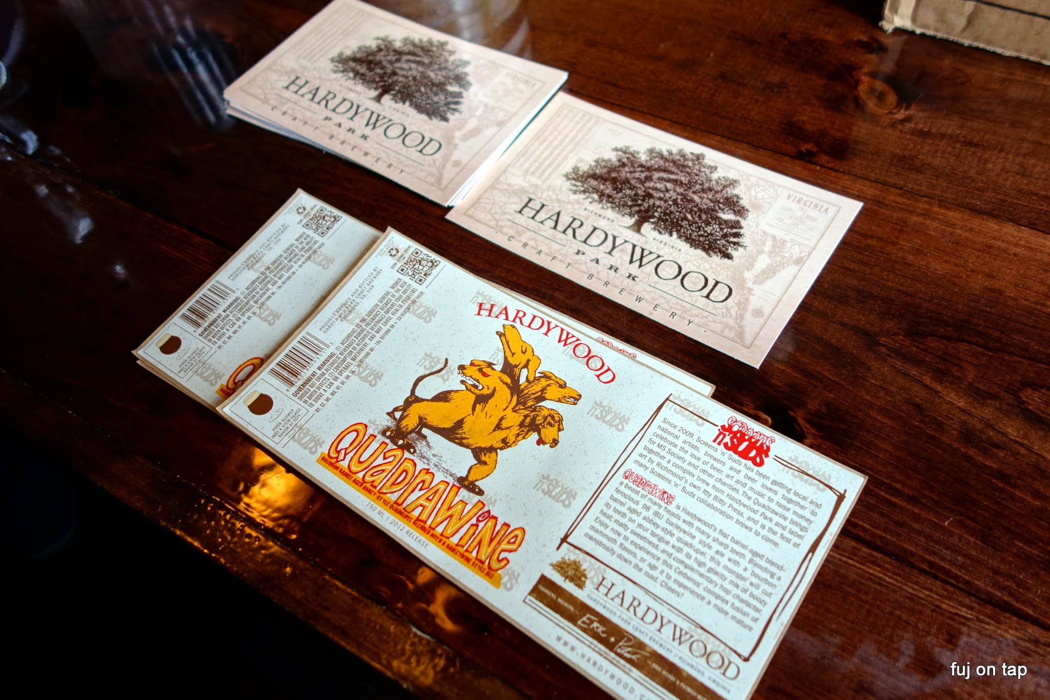 Hardywood Labels