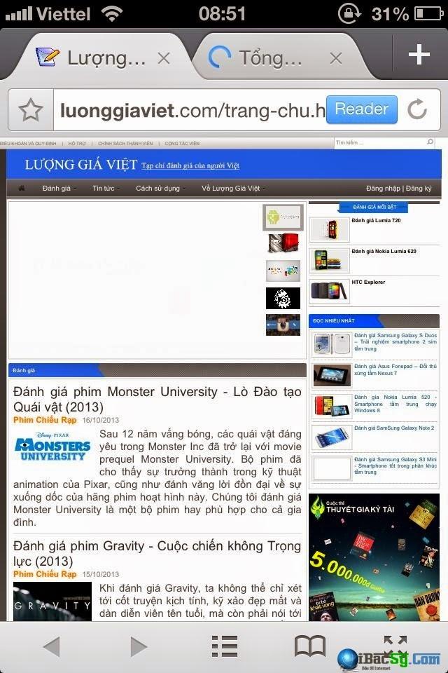 Trình duyệt web Mercury