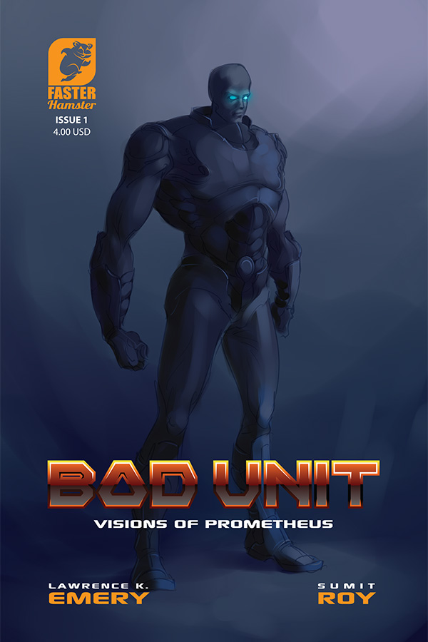 bad unit science fiction comics page illustration