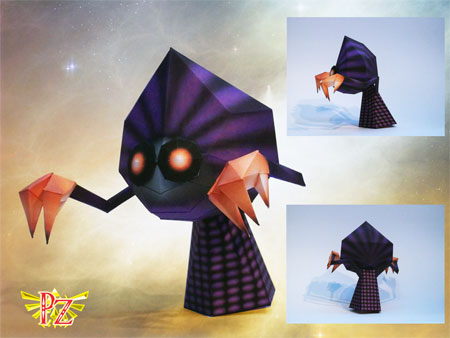 Majora's Mask Them Papercraft