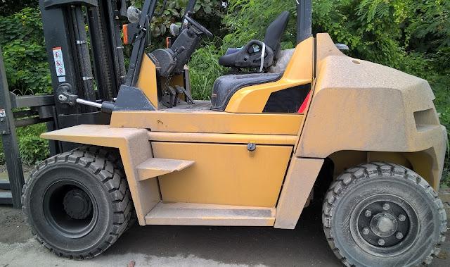 Xe nâng hàng 6 - 7  tấn Nhật Bản