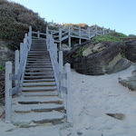 Steps at Norah Head (194882)