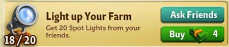farmville 2 cheats codes for spot light