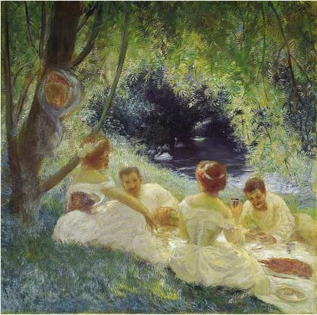 Gaston La Touche - Le dejeuner a l'herbe