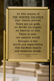 Freedom From Religion Foundation (FFRF) Display