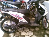 modifikasi honda beat road race