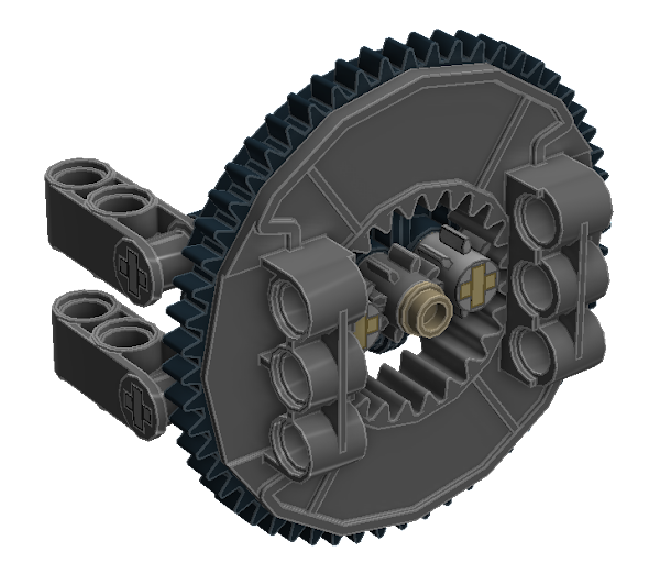 Planetary Geared Wheel 03