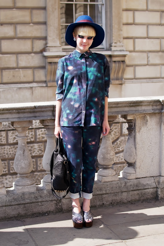 Stella Kattermann at London Fashion Week
