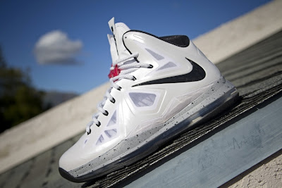 nike lebron 10 id production white cement 1 05 Nike LeBron X iD Cement Designed by gentry187