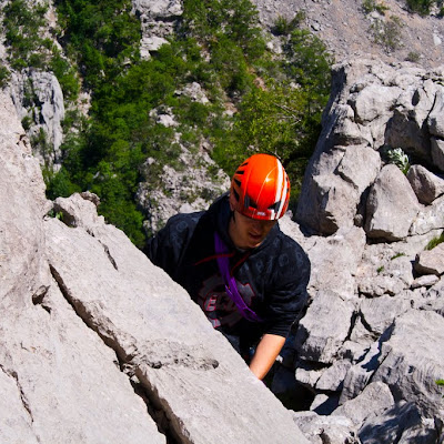 Climbing weekend in Paklenica
