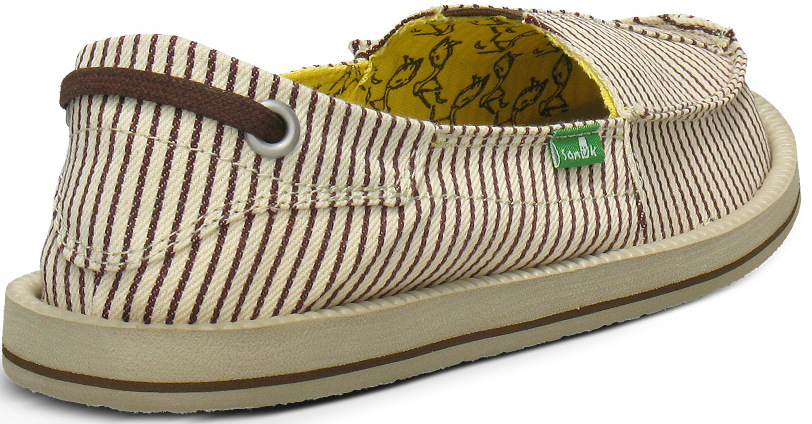 *Sanuk 春風直條紋懶人鞋:幸福的送子鳥與女孩們打招呼喔! 3