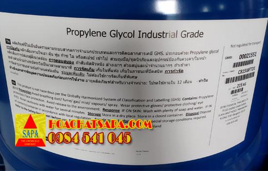 Hóa Chất SAPA | Propylene Glycol Industrial Grade | PG công nghiệp