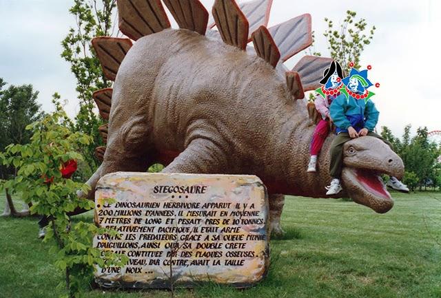 mirapolis dinosaure stegosaure 1991