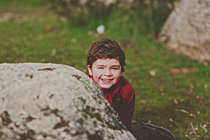 Fotografos de niños - retratos de familia en el exterior