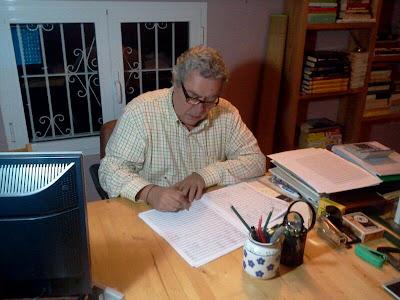 Foto del compositor José María Redondo Márquez cedida para la web de la Banda Municipal de Música de Pozoblanco * www.bandamunicipaldepozoblanco.blogspot.com