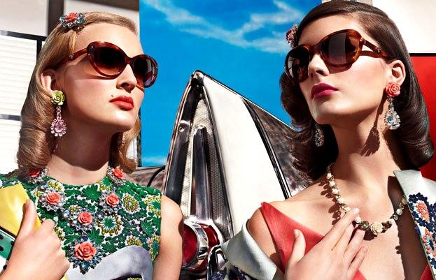 Prada eyewear spring summer 2012 campaign