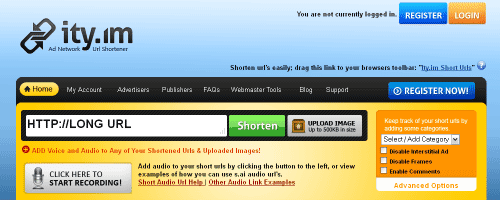 Free URL Shortener Service – Ityim