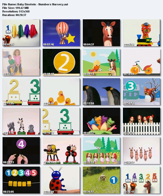 The Gallery For Gt Baby Einstein Numbers Nursery Toys