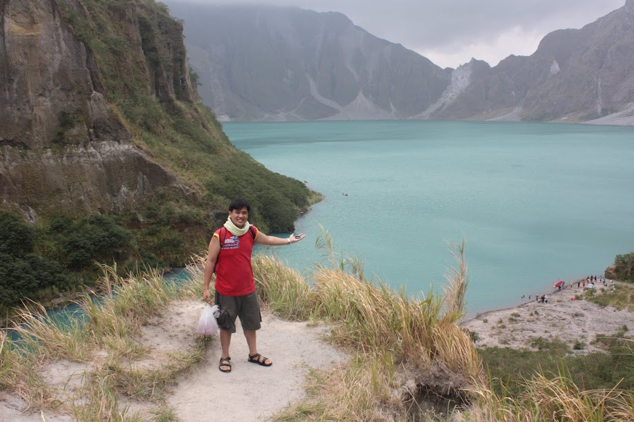 PauTravels at the Mount Pinatubo Crater Lake