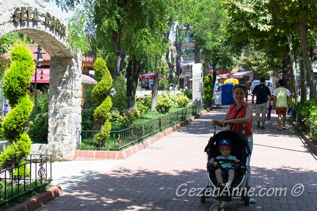 Sefa Park girişi, Amasra
