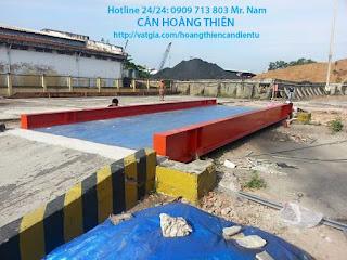 Hình ảnh trạm cân xe tải Hoàng Thiên_05