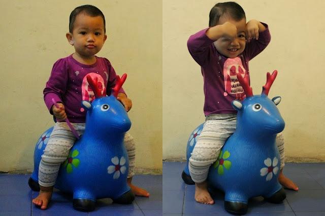 Mainan Kuda-kudaan Dedek Diana
