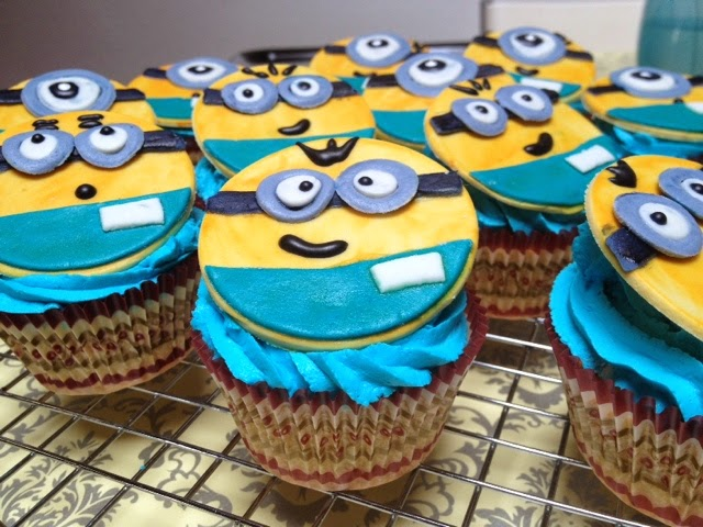 cupcakes dei minions :-)
